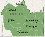 Our Idaho Service Area
